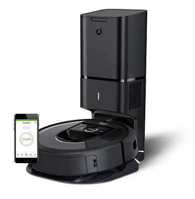 400 Roomba i7 _Clean Base with Phone