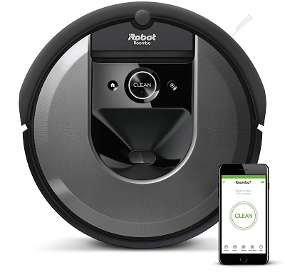400 Roomba i7 with Phone